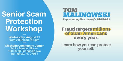 Senior Scam Protection Workshop
