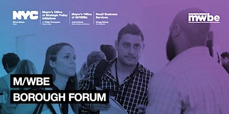 Brooklyn M/WBE Borough Forum   tickets
