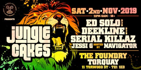 WAH - Jungle Cakes TORQUAY tickets