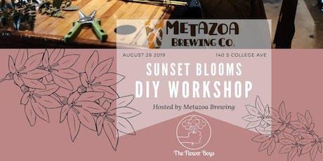 Flower Arranging Workshop: Sunset Blooms at Metazoa tickets