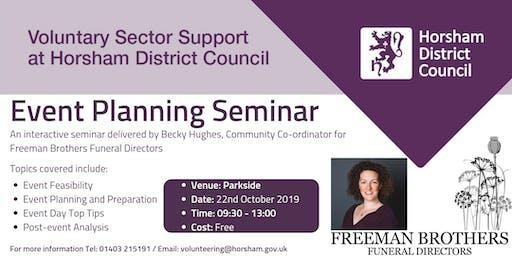 Event Planning Seminar