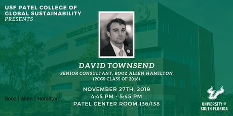 PCGS Speaker Series with David Townsend tickets
