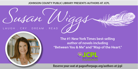 Authors at JCPL Presents: Susan Wiggs (plus 100 book giveaway) tickets