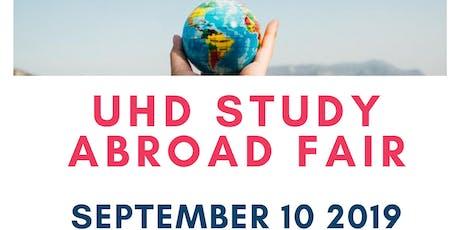 Study Abroad Fair tickets