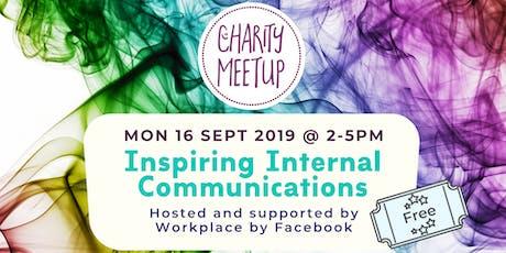 Charity Meetup - Internal Comms tickets
