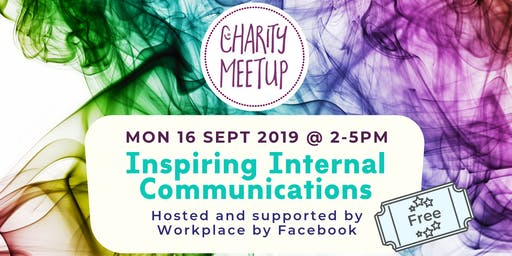 Charity Meetup - Internal Comms