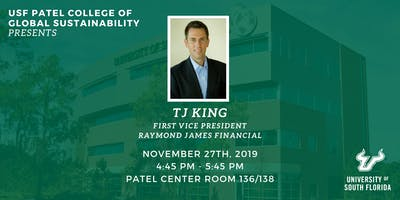 PCGS Speaker Series with TJ King