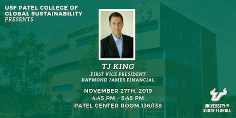 PCGS Speaker Series with TJ King tickets