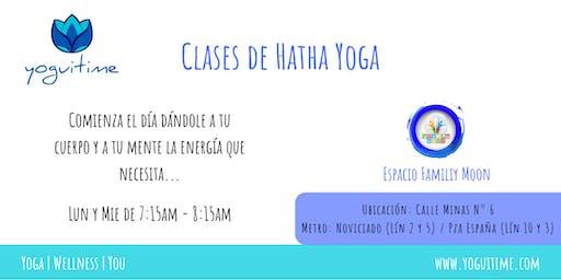 Yoga en las mañanas - Malasaña - Clase de Prueba