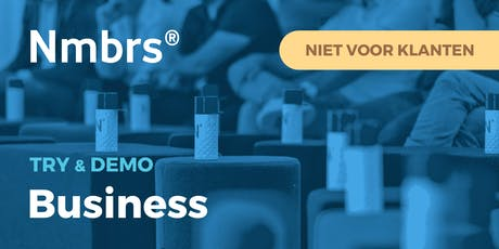 Amsterdam | Nmbrs® Business try & demo tickets
