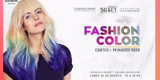 Fashion Color Corte + Peinados Verano 2020 con Silkey