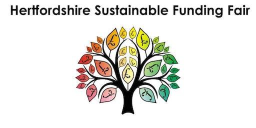 Hertfordshire Sustainable Funding Fair 2019