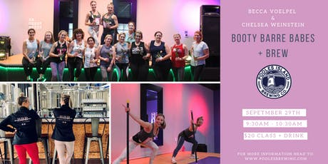 Booty Barre Babes + Fall Brews!  tickets