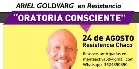 Oratoria Consciente-  Ariel Goldvar entradas