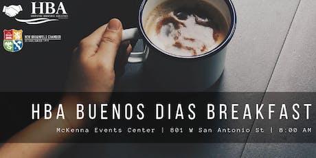HBA September 2019 Buenos Dias Breakfast  tickets