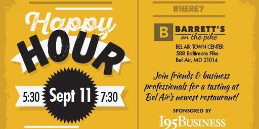 I95 Presents: Happy Hour Harford