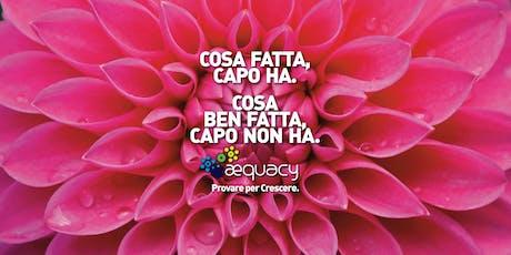 AEquacy Taster biglietti
