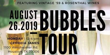 Bubbles Tour 2019 - Houston *TRADE ONLY EVENT*  tickets