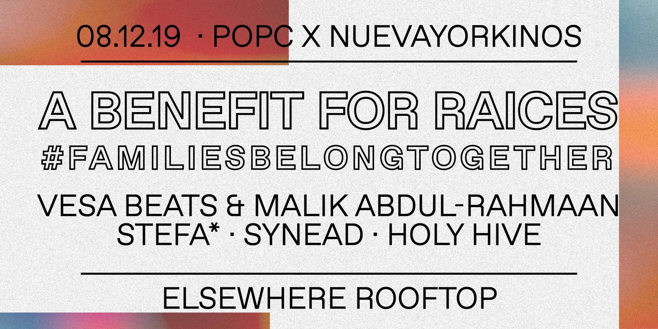 POPC & Nuevayorkinos Rooftop Party: A Benefit for RAICES