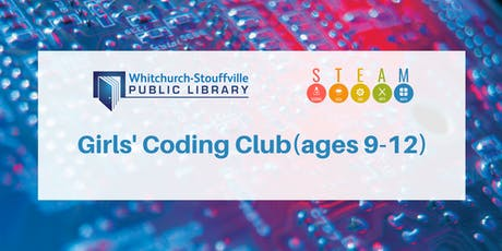 Girls' Coding Club (ages 9-12) tickets