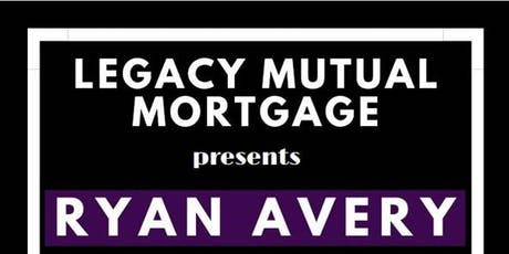 Legacy Mutual presents Ryan Avery tickets