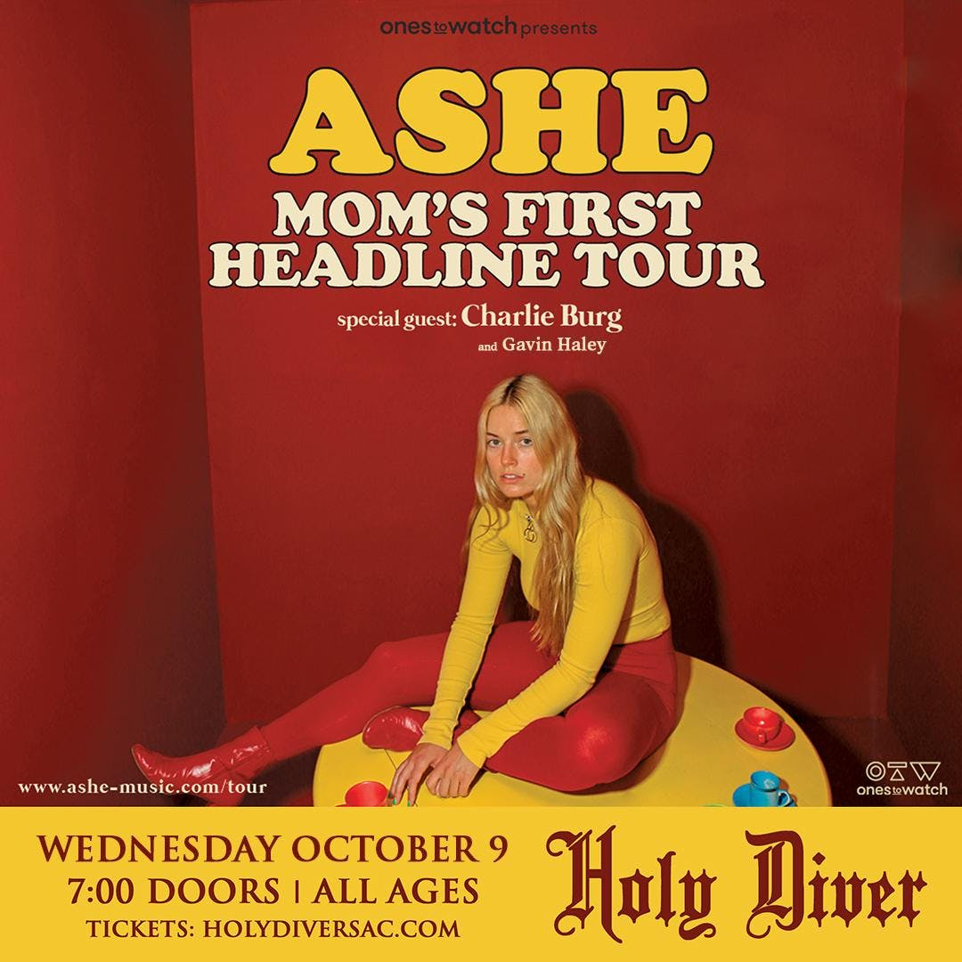 Ashe: Your Mom's First Headline Tour