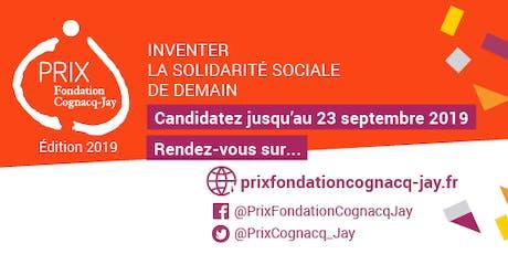 Réunion de présentation Prix Fondation Cognacq-Jay billets