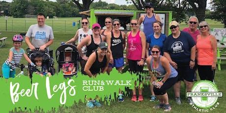 Run & Walk Club at The Beer Garden - Beer Legs tickets