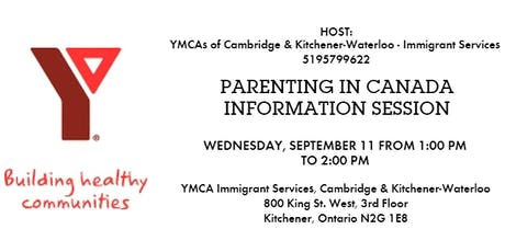 Parenting in Canada Information Session tickets