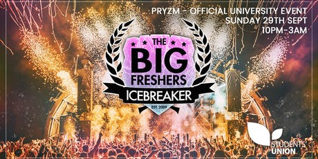 The Big Freshers Icebreaker - Sussex tickets