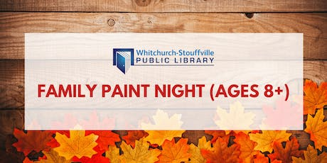 Family Paint Night (ages 8+) tickets