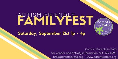 Autism Friendly Family Fest! tickets