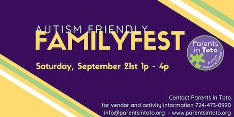 Autism Friendly Family Fest! tickets