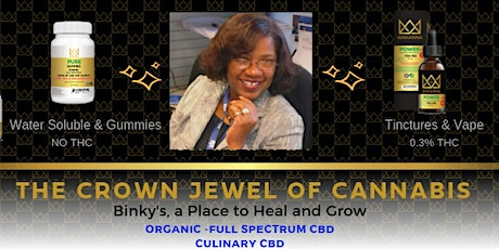 CBD Products & Business Overview (ZOOM ONLINE) tickets
