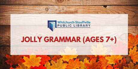 Jolly Grammar (ages 7+) tickets