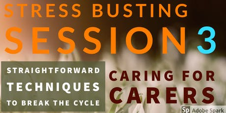 BRENTWOOD - STRESS BUSTING SESSION 3 tickets