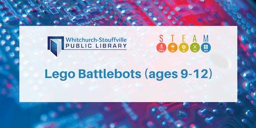Lego Battlebots (ages 9-12)