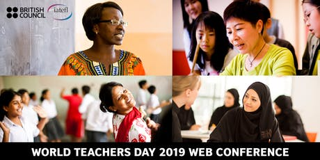 World Teachers' Day web conference 2019 tickets