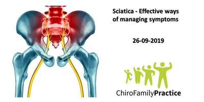 Sciatica - Safe and Effective ways of managing Sciatica
