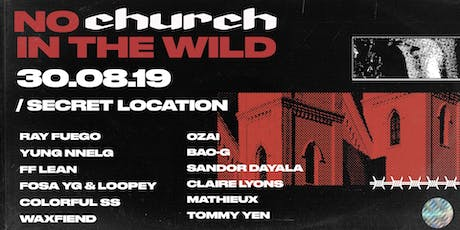 No Church In The Wild (NEW DATE 30 AUG) tickets