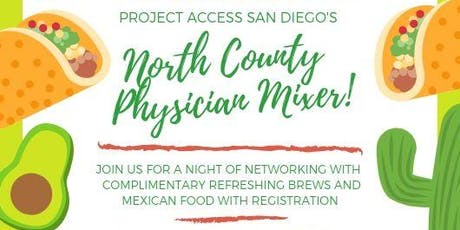 Project Access San Diego North County Physician Mixer  tickets
