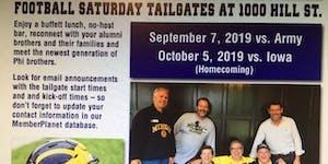 Psi U - UM Football Saturdays - Fall 2019