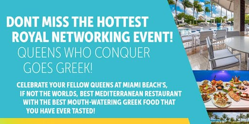 Discounted!Free Wine, Miami Spice Queens Who Conquer BossBabe Power Lunch!