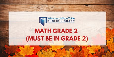 Math Grade 2 (Must be in Grade 2) tickets