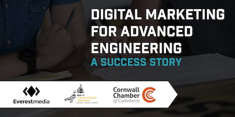 Digital Marketing for Advanced Engineering - A Success Story tickets