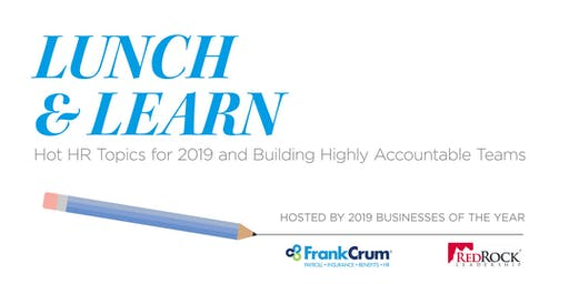 Hot HR Topics for 2019 & Building Highly Accountable Teams