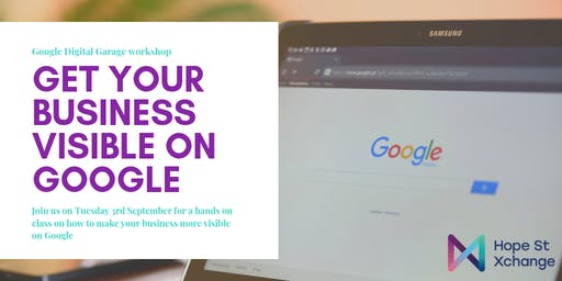 Get Your Business Visible on Google