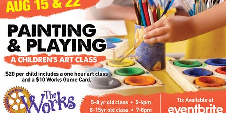 Painting and Playing evening! tickets