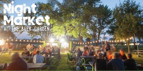 Night Market at the Beer Garden tickets