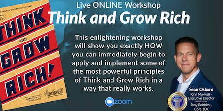 Think and Grow Rich WORKSHOP tickets